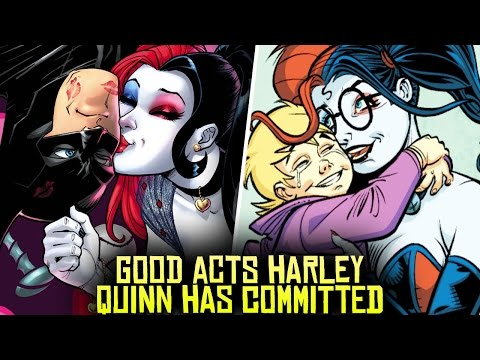 Thumbnail: 10 HEROIC Acts Harley Quinn Has COMMITTED!