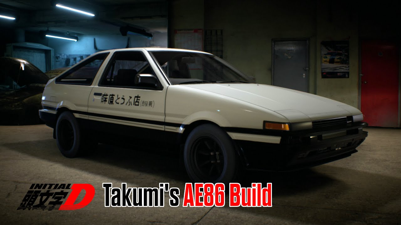 need for speed 2015 initial d takumi 39 s ae86 toyota sprinter gt apex youtube. Black Bedroom Furniture Sets. Home Design Ideas