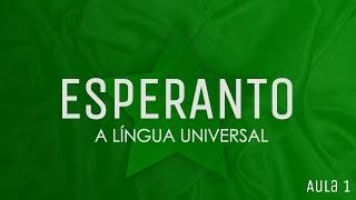 Aulas de Esperanto - o alfabeto em Esperanto