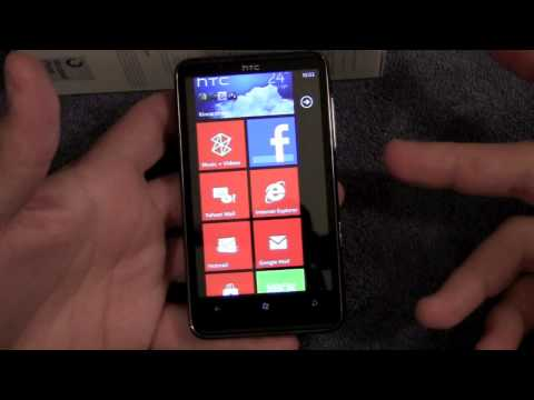 Full Review - HTC HD7 featuring Windows Phone 7