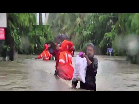 പാലക്കാട് വെള്ളമിറങ്ങി തുടങ്ങുന്നു;ജനങ്ങൾ ക്യാമ്പുകളിൽ തുടരും|Palakkad | Flood