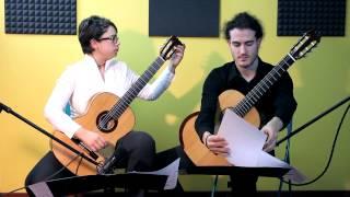 Canta Rinaldo guitar duo plays F. Carulli & M. Castelnuovo Tedesco