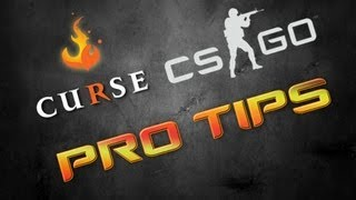 [CS:GO Pro Tips] Curse.NA Michael3D - The Best Smoke and Flash Grenades On de_mirage_csgo