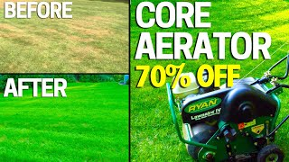 How to Aerate Your Lawn BIG  Results - BUY Don't Rent an Aerator