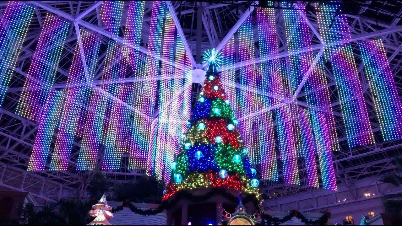 joyful 6 story christmas tree light show debut at gaylord palms resort orlando florida - Christmas At Gaylord Palms