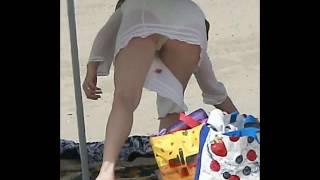 Amy Adams Hidden Camera Beach Bikini Fail