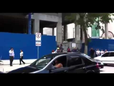 Brazilian woman destroys cheating husband&39;s car in public