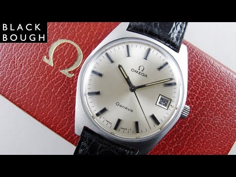 Omega Genève Ref. 136.041 stainless steel vintage wristwatch, sold in 1972