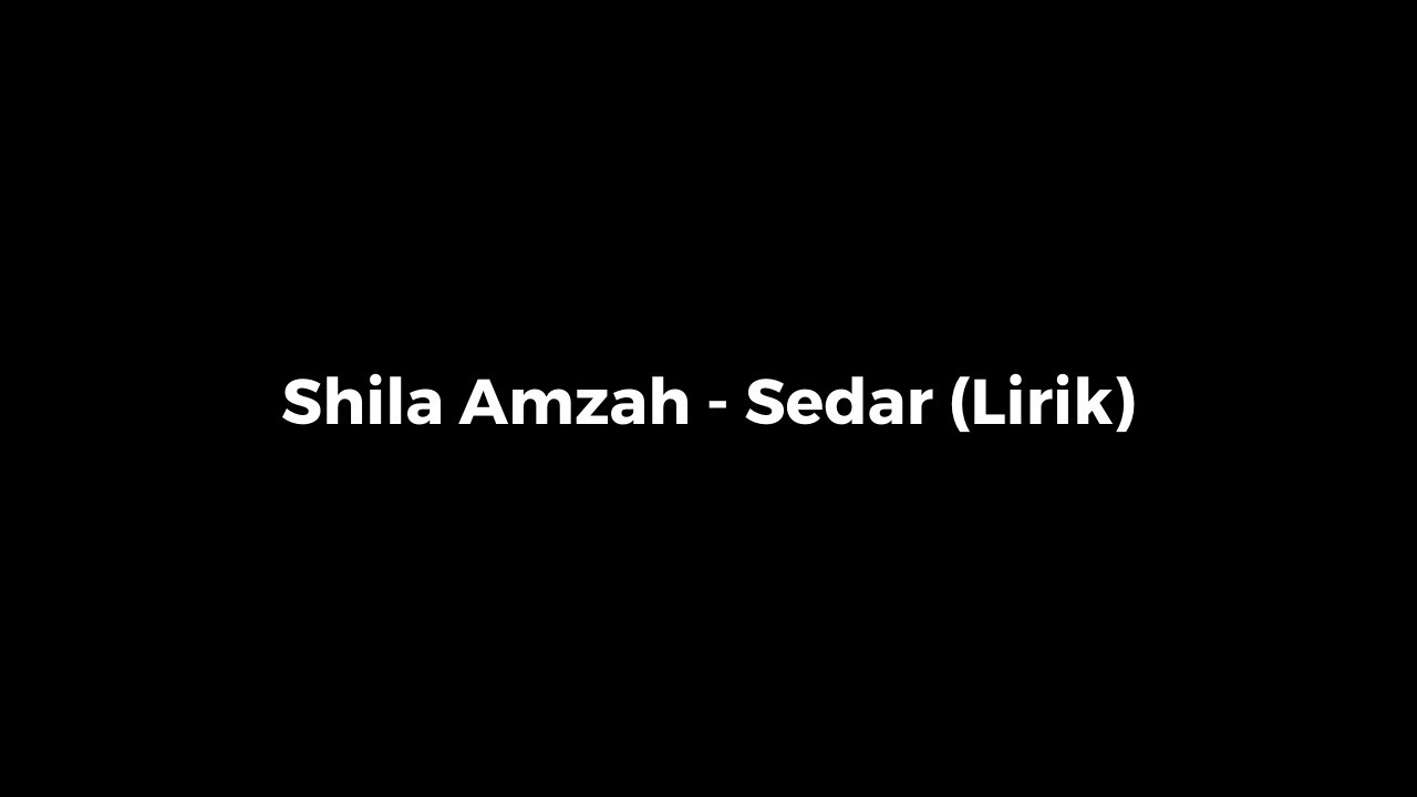 "Shila amzah ""memori tercipta"" (with lyrics) youtube."