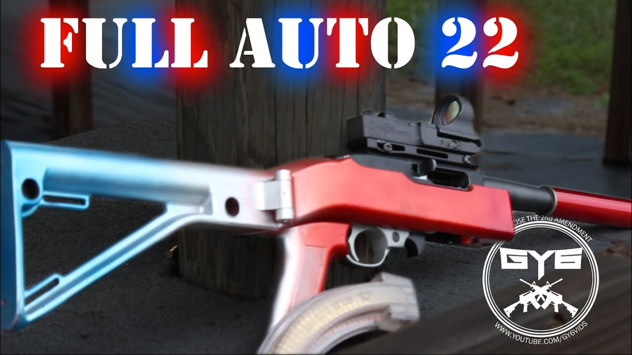 Full Auto 22 1800rpm Youtube