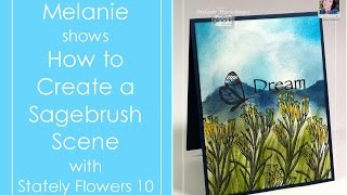How to Create a Scene with Sagebrush
