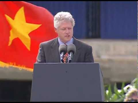 President Clinton's Remarks to the Vietnamese Business Coummunity