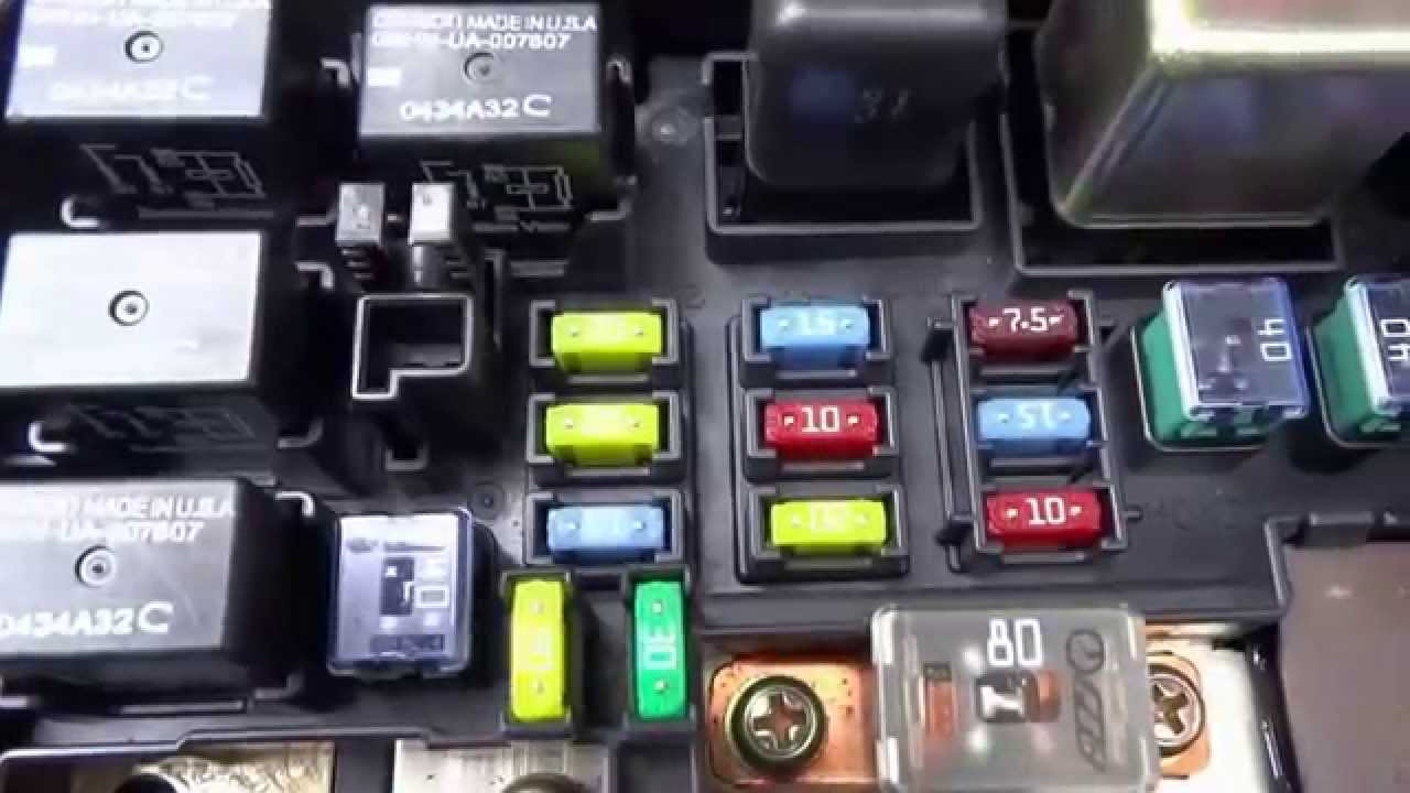 2012 ford expedition fuse box c mo probar un relay rel intercambiandolo youtube 2000 ford expedition fuse box diagram