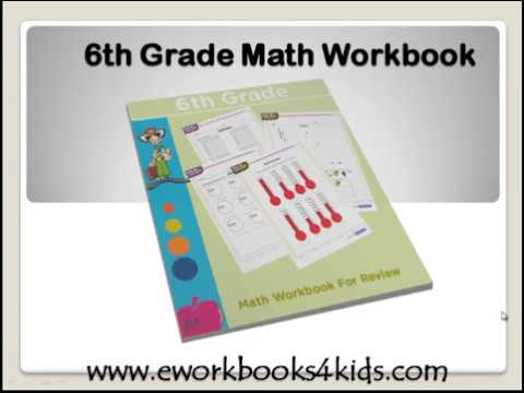 6th grade math workbook | Pdf ebook download link for children - YouTube