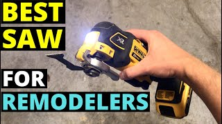 The BEST SAW You've NEVER HEARD OF!! (Multitools--Great For Remodeling!)
