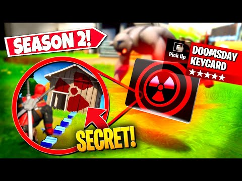 *NEW* FINDING RARE DOOMSDAY *KEYCARD* LEADING TO NEW VAULT LOCATION! (Battle Royale)