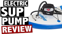 Electric SUP Pump Reviews - Best Electric Paddle Board Pumps for 2016
