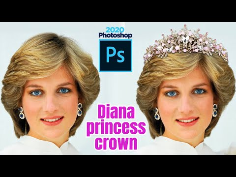 Crown With Photoshop - Instagram Effect. Crown And Heart Photoshop Cc + Photoshop Light Room