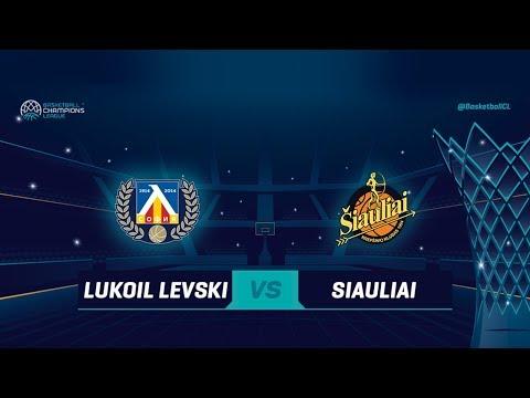 Lukoil Levski v Siauliai - Full Game - Basketball Champions League 2018