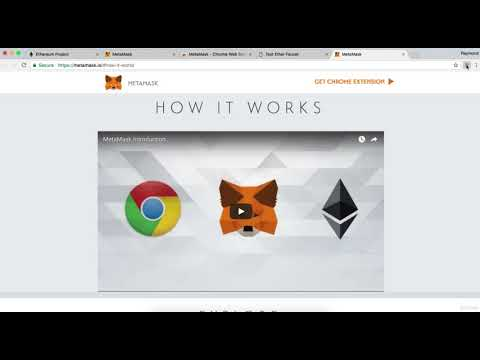Installing Metamask And Getting Free Ethers