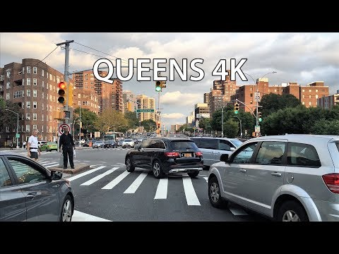 Drive 4K - Queens - New York City USA