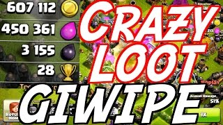 Best Elixir Only Attack - Clash of Clans Crazy Loot!