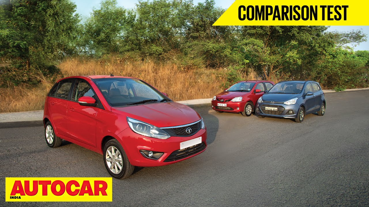 Tata Bolt Vs Hyundai Grand I10 Vs Toyota Etios Liva