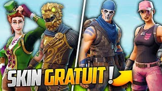2 NEW FREE SKINS AND THE PROCHAINS SKINS FORTNITE! (Fortnite Battle Royale)