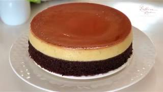 Caramel Pudding With Chocolate Cake 焦糖布丁巧克力蛋糕