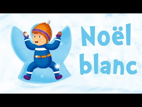 White Christmas (christmas song for kids with lyrics to learn French)