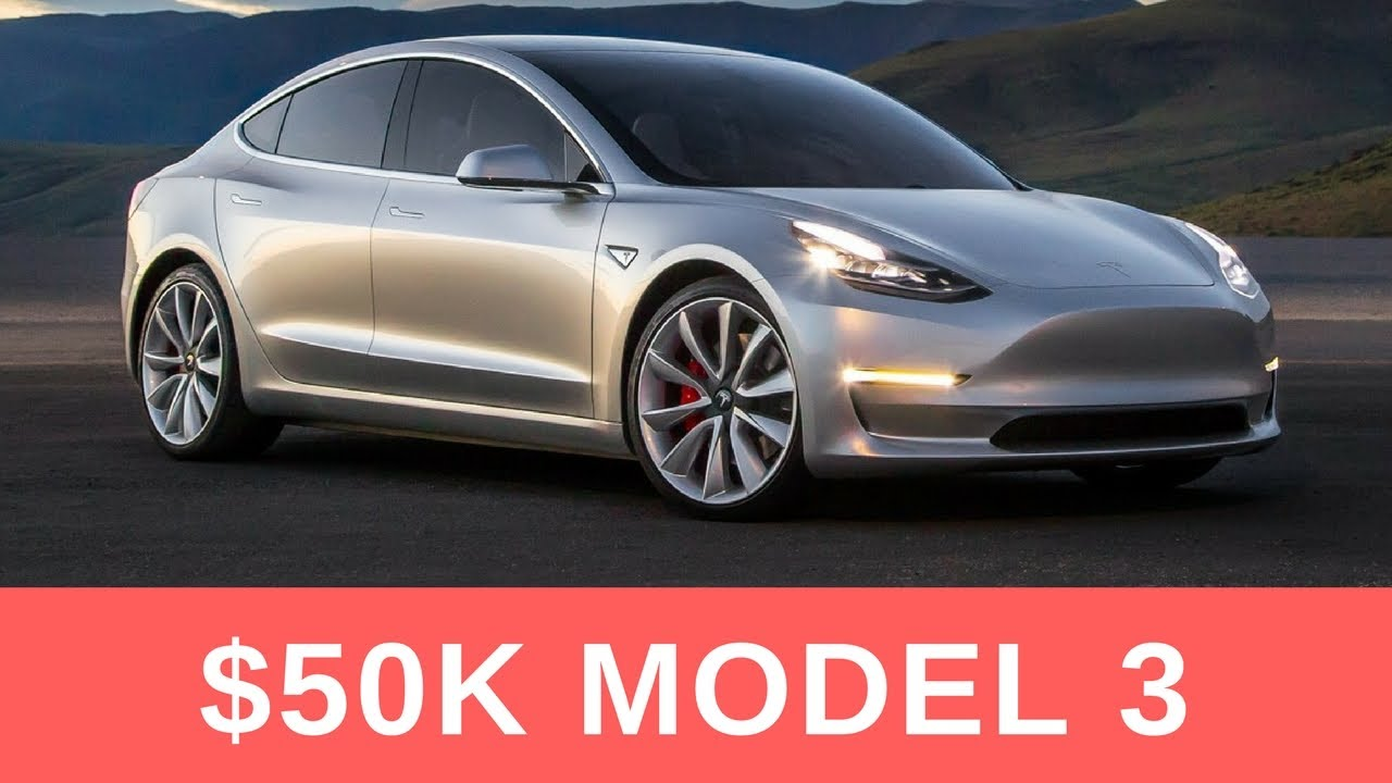 Tesla Model 3 Will Cost Around 50k Updated Almost 10k Reservation Holder Surveyed