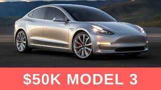 Tesla Model 3 Will Cost Around $50K [Updated] Almost 10K Reservation Holder Surveyed