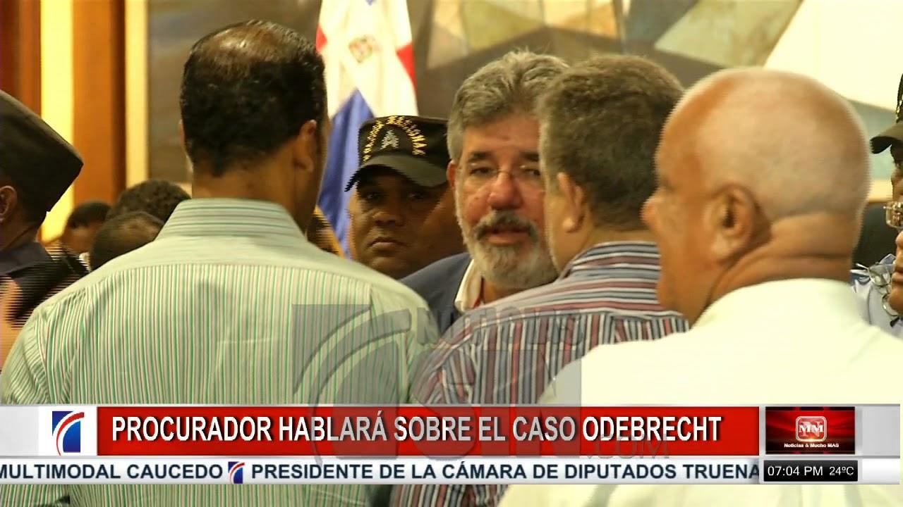 Procurador RD hará declaración esta noche sobre caso de sobornos Odebrecht