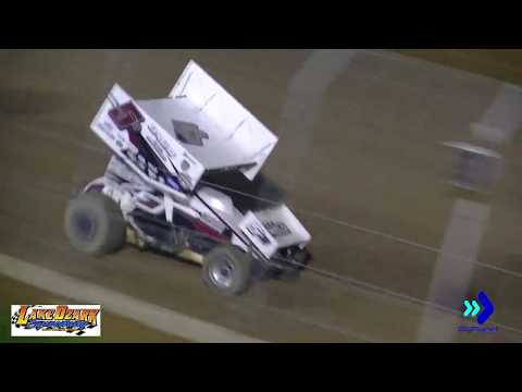 Lake Ozark Speedway 360 Sprints - Winged 5/25/18