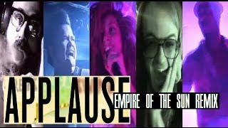 Lady Gaga - Applause (Empire Of The Sun Remix) Music Video