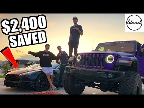 Dealer Wanted $2,500 So We Fixed The Aston For $110 DIY ft. TheStradman!