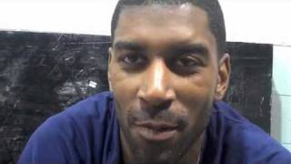 Memphis Grizzzles - O.J. Mayo interview at the 2010 NBA Summer League