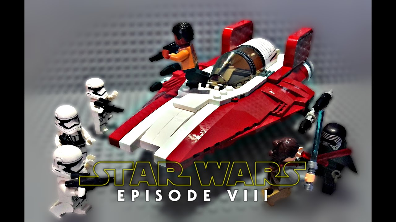 LEGO Star Wars Episode 8 The Last Jedi  Resistance AWing
