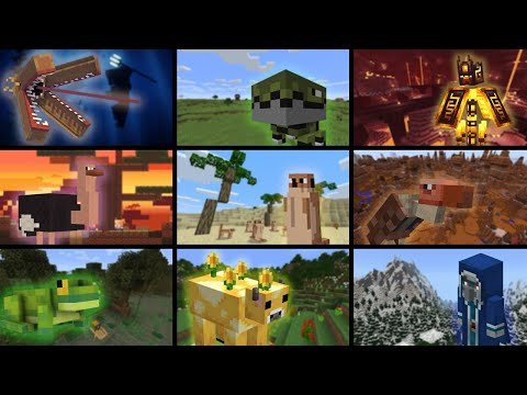The FORGOTTEN MOBS throughout the MINECONS - JustCornet