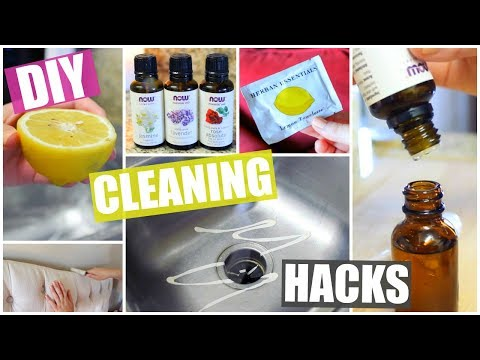 DIY Cleaning Hacks + How I Use Essential Oils!
