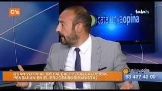 C's - Jordi Cañas en 'Catalunya Opina' de Badalona Tv  28/04/2015