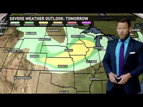 Morning weather forecast for Minneapolis/St. Paul 6-27-17