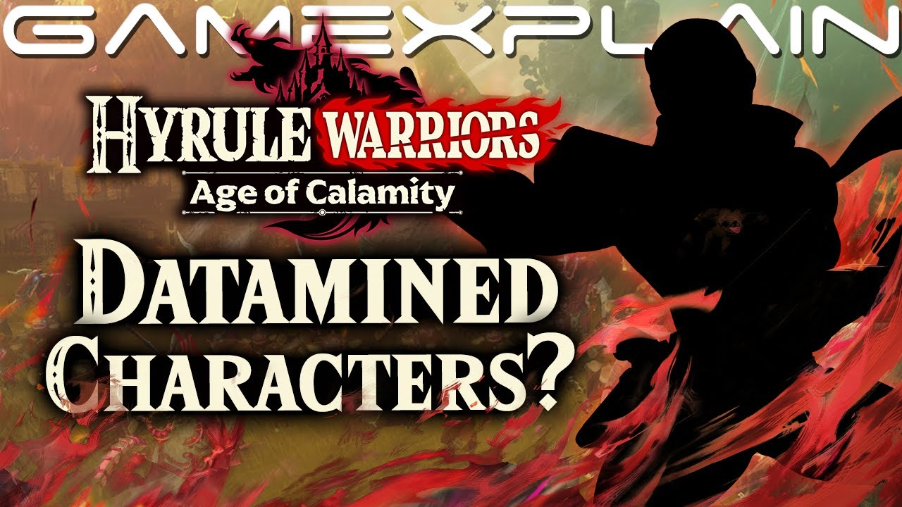 Data Mine Might Reveal New Playable Characters In Hyrule Warriors Age Of Calamity Youtube
