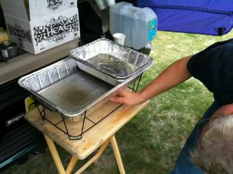 Serving Hot Food At A Tailgate Party Birthday Party