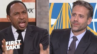 Download Stephen A. torches Max for saying Durant is not a top 5 NBA player | First Take Mp3 and Videos