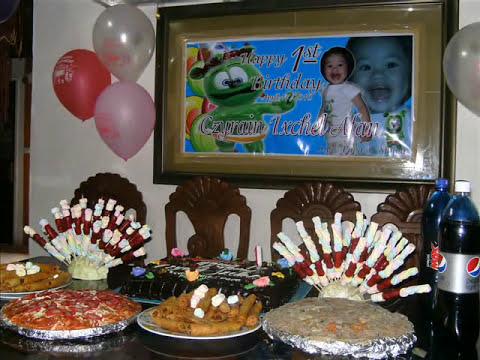 czyrain ixchel, 1st birthday apr 17 2010 , gummy bear birthday party...