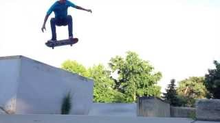 Huge Kickflip Down 5 Foot Drop | Ocean Sharma