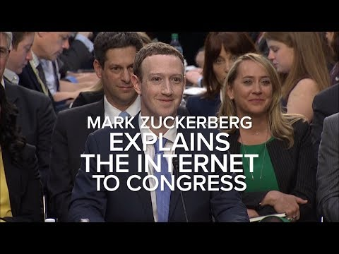 Zuckerberg explains the internet to Congress Mp3