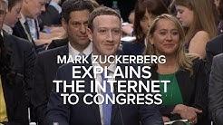 Zuckerberg explains the internet to Congress