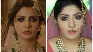 Anushka Sharma Channa Mereya Inspired Bridal Makeup | Ae Dil Hai Mushkill | Diwalog Day 6